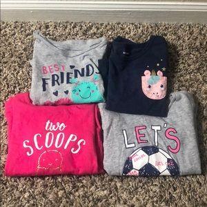 Carter's T-shirt Bundle Size 2T